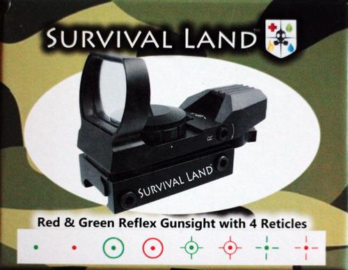 mira tactica red green dot reflex airsoft gotcha