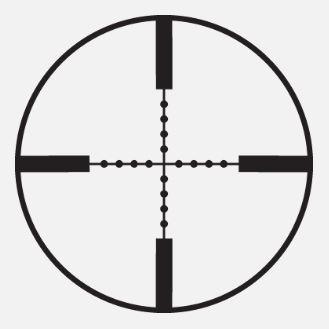 mira telescopica 3-9x40ao marca hatsan reticula mil-dot incluye anillos 11mm (ha90501)