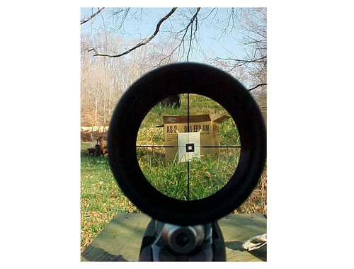 mira telescópica 4-16x40 rifles aire retícula mil-dot nueva!