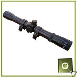 mira telescopica 4x20 para rifle aire neumatico envio gratis