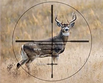 mira telescopica caza