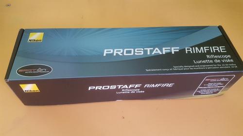 mira telescópica nikon prostaff rimfire ii 3-9x40 bdc150