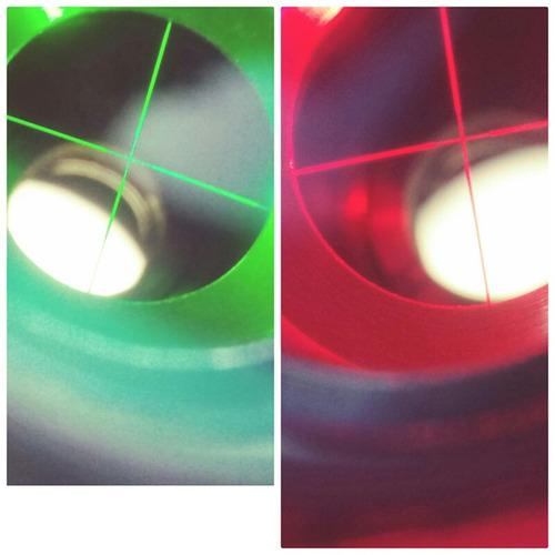 mira telescopica picatinny tacticacon laser verde recargable