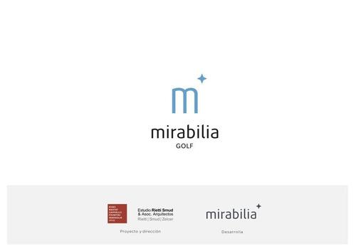 mirabilia golf - 3 ambientes - belgrano chico