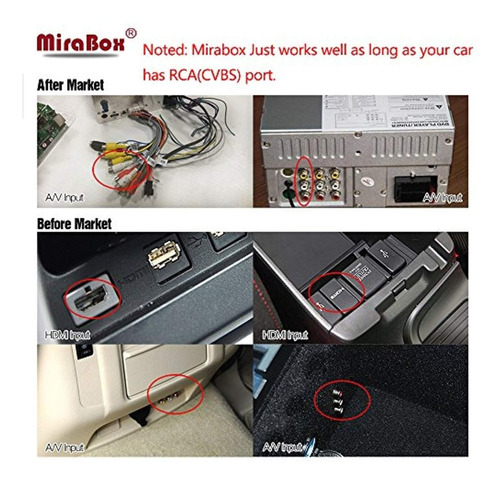 mirabox car wifi mirrorlink box,wireless
