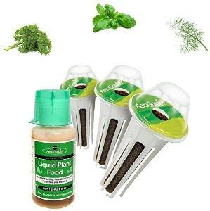 miracle-gro aerogarden gourmet hierba semilla kit pod (3-pod
