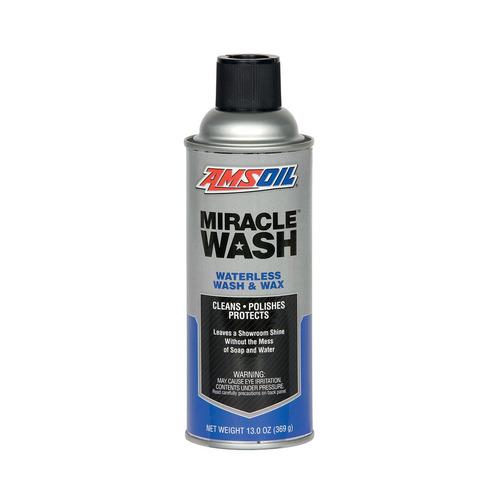 miracle wash amsoil lavado en seco spray cera 13oz 369gr