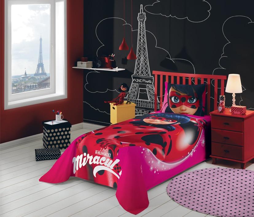 d1bdbb6336 miraculous lady bug jogo de cama 2 peças. Carregando zoom.