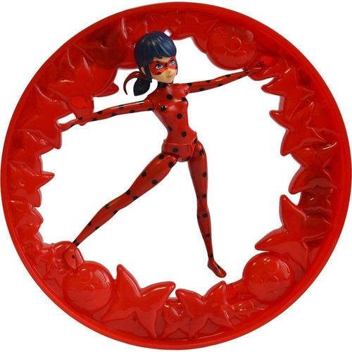 miraculous ladybug roda giratória luz e som lady bug sunny