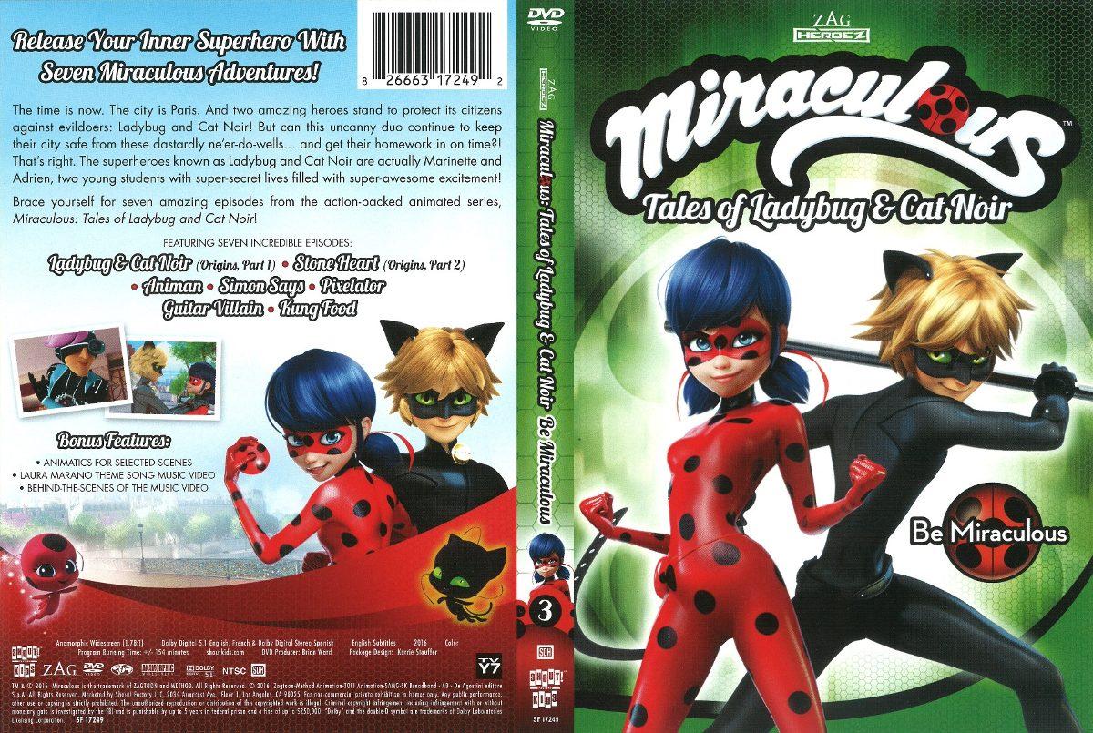 Miraculous Ladybug Und Cat Noir Dvd