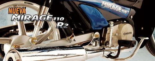 mirage 110 moto corven