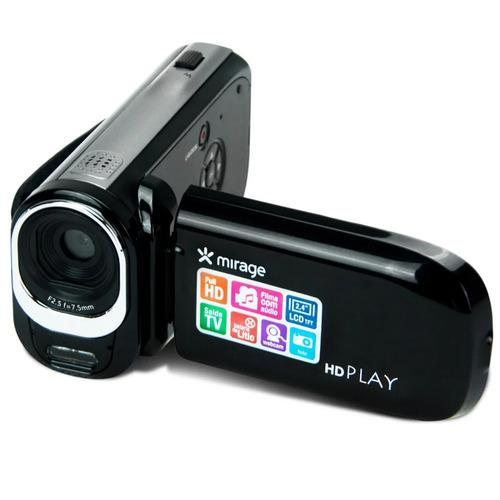 mirage câmera filmadora