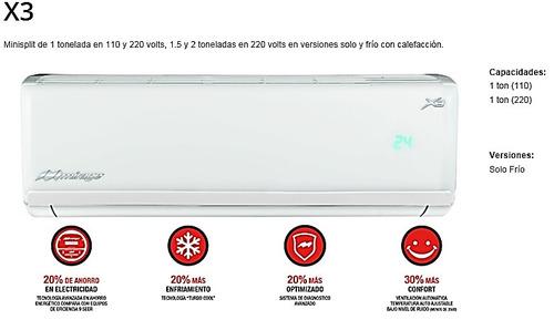 mirage minisplit aire acondicionado