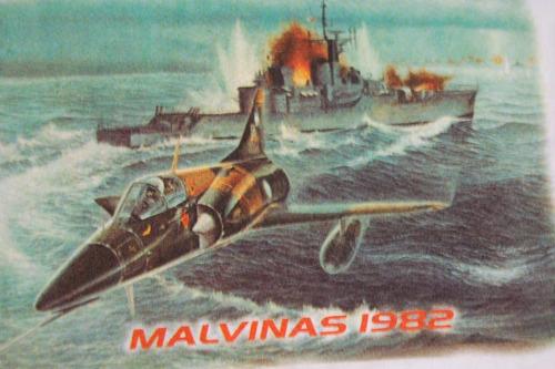mirage remera malvinas 1982 homenaje fuerza aerea argentina