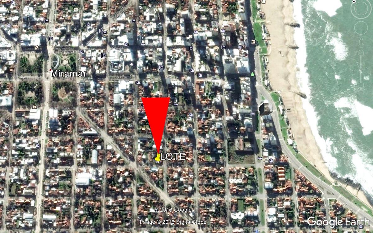 miramar centro terreno de 750 m2 calle 29 nº 937 residencial