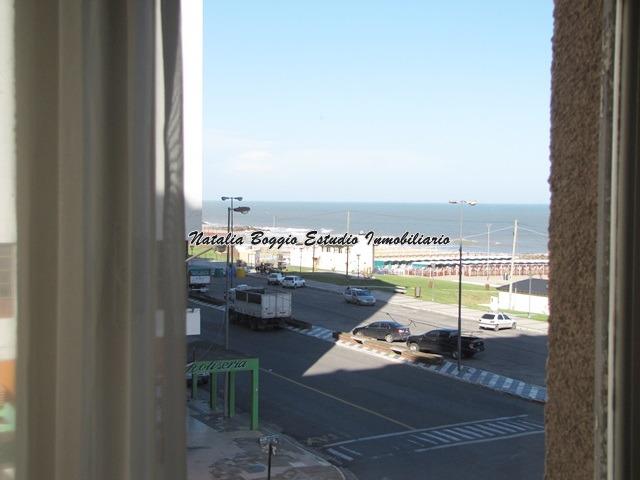 miramar excelente oportinidad dpto 2 ambientes vista al mar