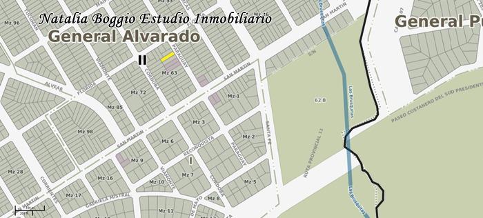 miramar lote en barrio copacabana de 10 x 40