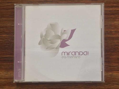 miranda es mentira cd (nuevo)/alex anwandter