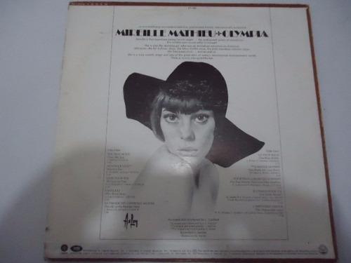 mireille mathieu / olympia vinyl lp acetato