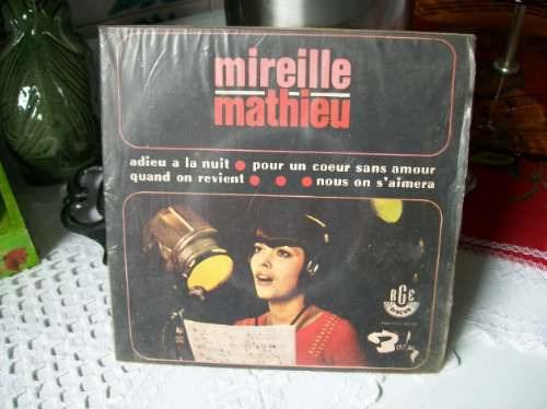 mireille  matthieu 1967 -duplo