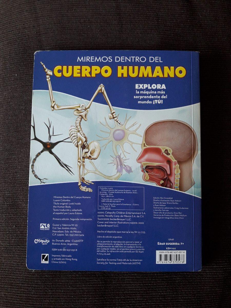 Miremos Dentro Del Cuerpo Humano - $ 540,00 en Mercado Libre