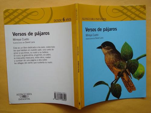 mireya cueto, versos de pájaros, alfaguara, méxico, 2010, 35