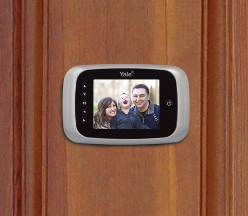 mirilla digital (ojo mágico) para puertas, yale real view