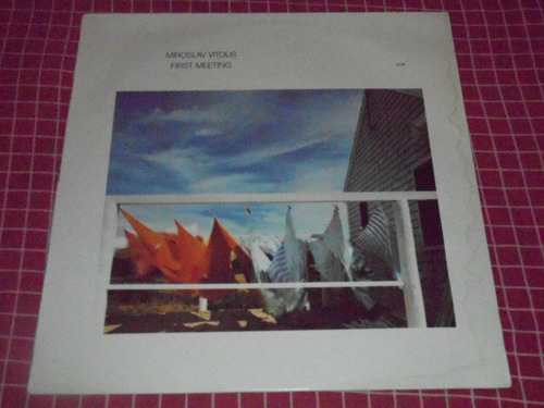 miroslav vitous - lp vinil first meeting (count mingus miles