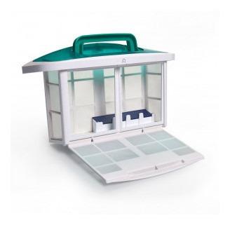 mirra filtro canister - compartimento de depósito e armazena