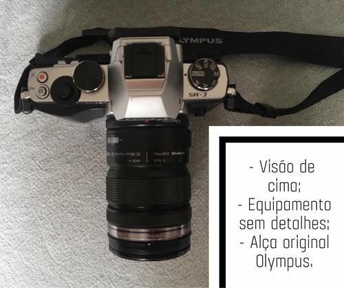 mirrorless profissional olympus o-md e-m5 mark i