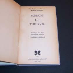 mirrors of the soul. kahlil gibran