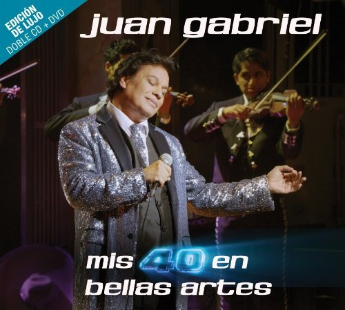 mis 40 sp bellas artes 2 cd / dvd combo deluxe edition