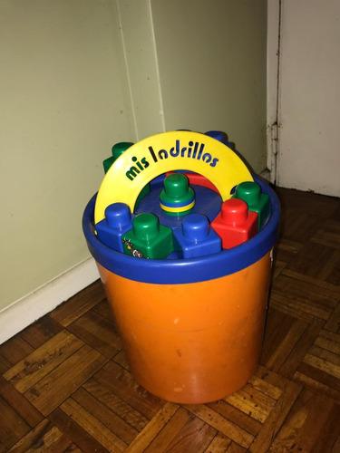 mis ladrillos balde