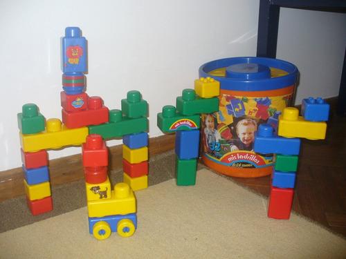 mis ladrillos bloques construcción
