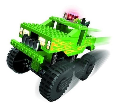 mis ladrillos r-100 - 100 pzs+kit motor jugueteria deltomate