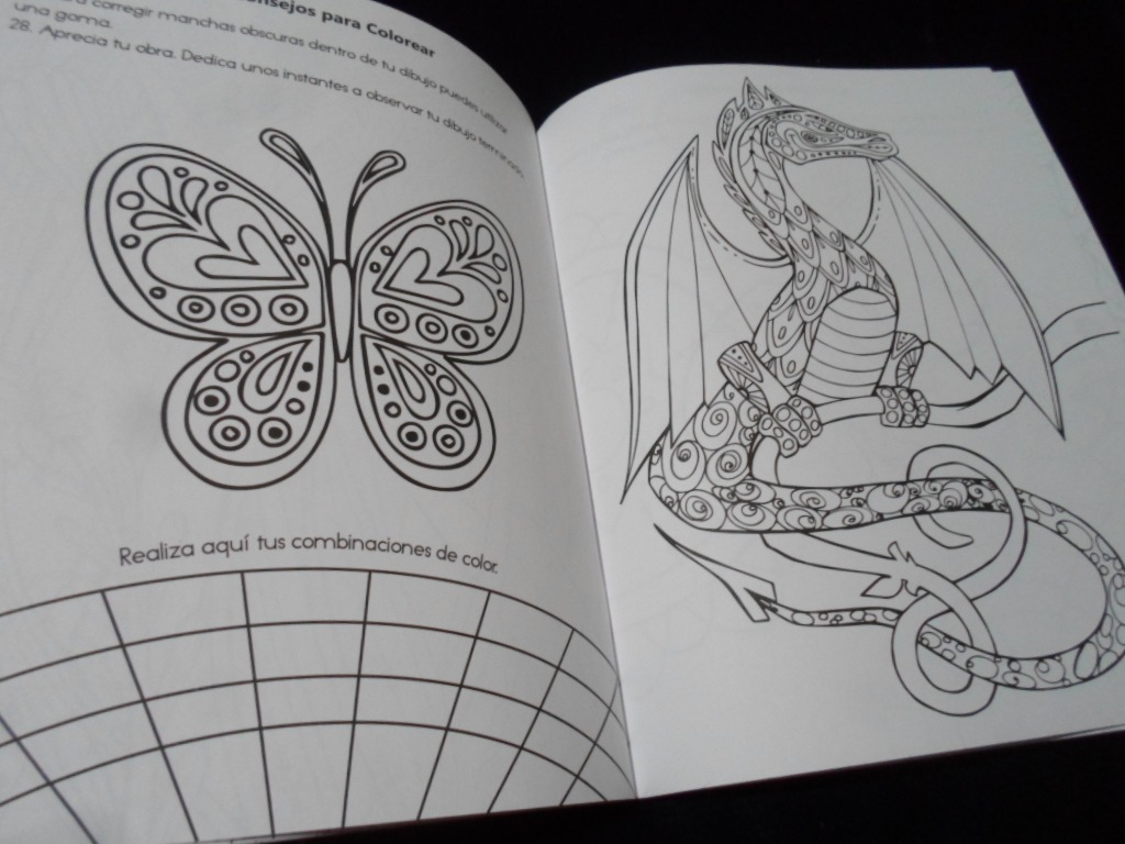 Mis Mandalas Fantasia Libro Para Colorear - $ 120.00 en Mercado Libre