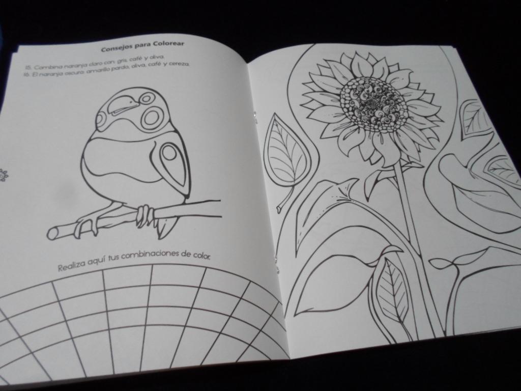 Mis Mandalas Naturaleza Libro Para Colorear - $ 120.00 en Mercado Libre