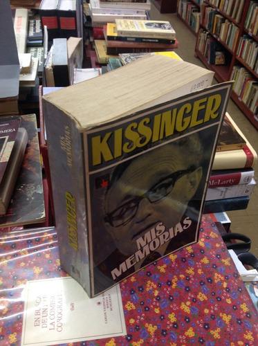 mis memorias. kissinger. asistente del ex presidente nixon.