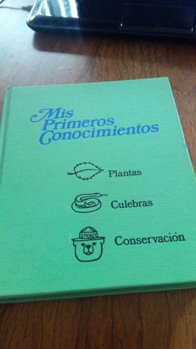 mis primeros conocimientos - plantas, culebras, conservación