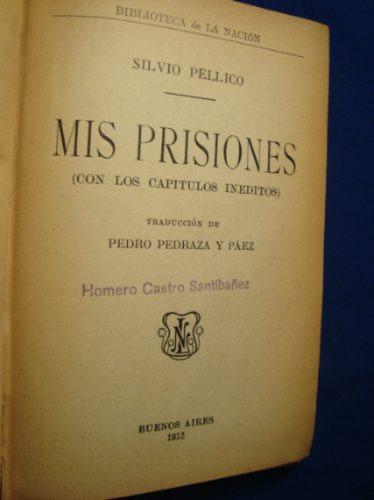 mis prisiones, silvio pellico