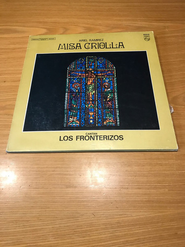 misa criolla lp ariel ramirez los fronterizos folklore
