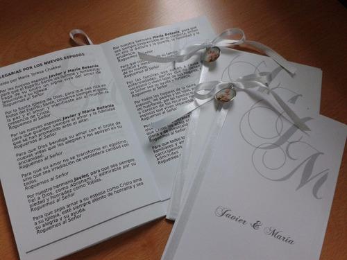 misal para eventos eclesiásticos - recordatorios - bodas