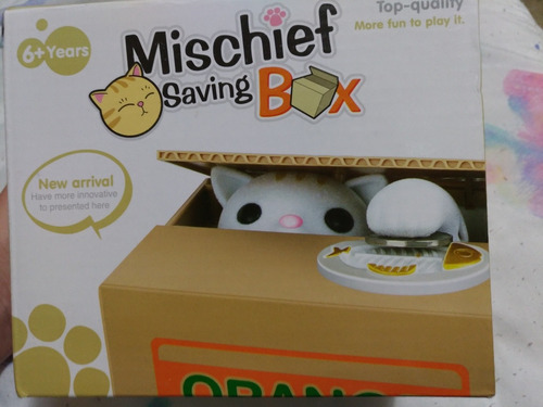 mischief saving box - porta moedas