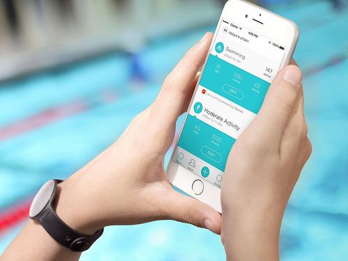 misfit shine 2 swimmer's edition mide actividad física sueño