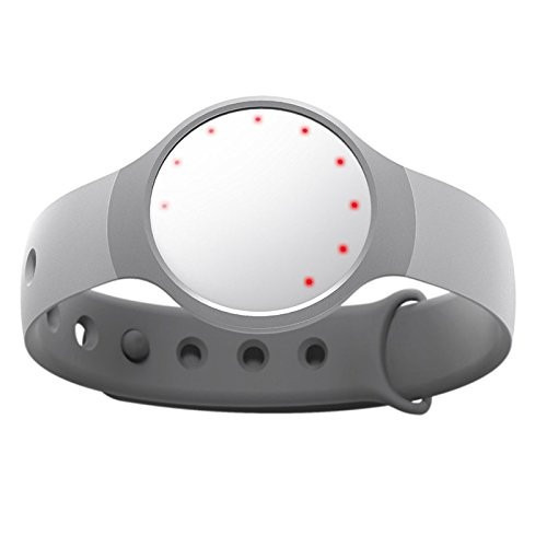 misfit wearables banda medidora actividad física sueño blan