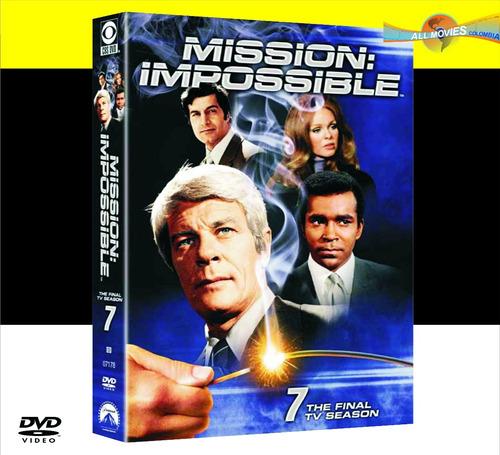 misión imposible temporada 7 (dvd) - original!