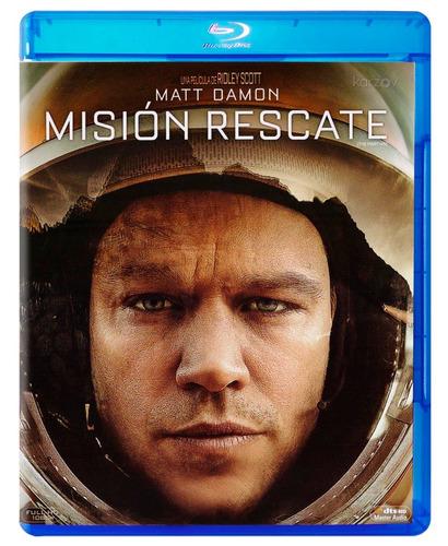 mision rescate  matt damon pelicula blu-ray