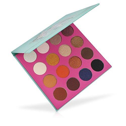 miskos 16 paleta sombras ojos nacaradas a color 9 shimmer 7