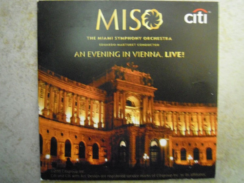 miso cd the miami symphony orchestra an evening vienna