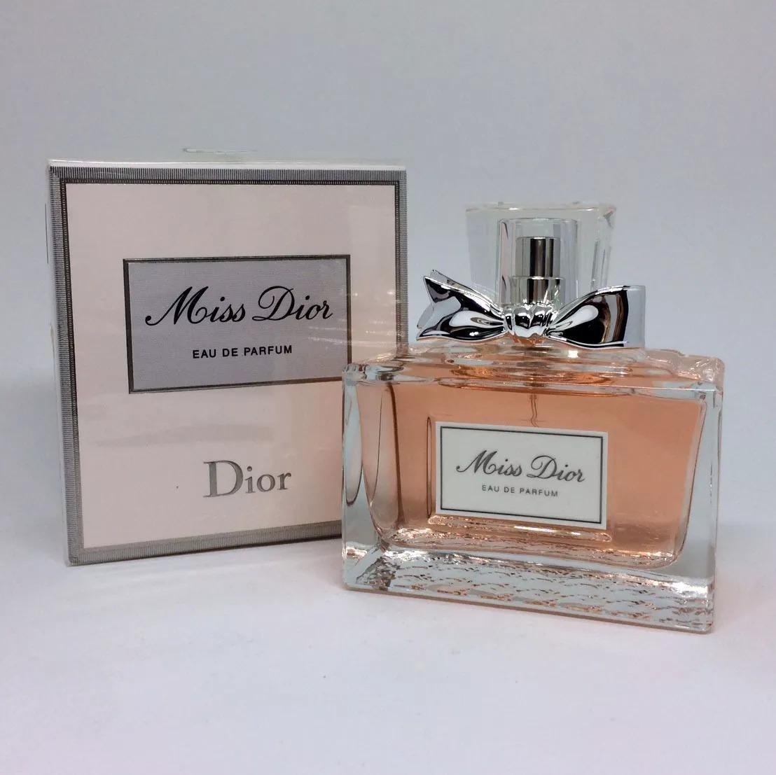 Miss Dior 100 Ml Eau De Parfum Original Verso 2017 R 38800 Carregando Zoom